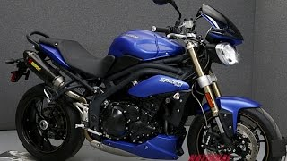 10. 2014  TRIUMPH  SPEED TRIPLE W/ABS  - National Powersports Distributors