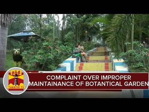 Tourist-Complaint-Over-Improper-Maintainance-Of-Botantical-Garden-at-Kolli-Hills