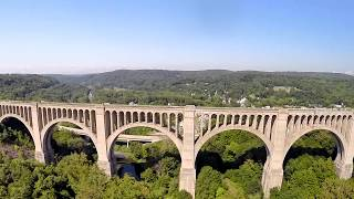 Tunkhannock (PA) United States  City pictures : Tunkhannock Creek Viaduct - 100 Years - 2015 An Aerial Perspective