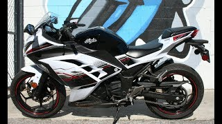 4. 2014 Kawasaki Ninja 300 SE ... The Perfect Entry Level Sportbike!