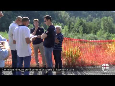2,9 milioni di euro per il ponte e la strada di Rocchetta Vara