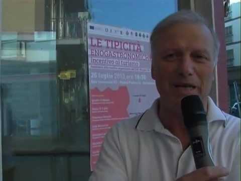 Il sindaco di Spinazzola Nicola Di Tullio parla del progetto Centro del Gusto