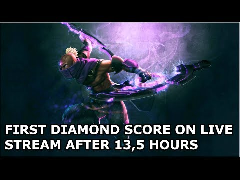 DOTA 2 Last Hit Trainer | FIRST DIAMOND SCORE ON LIVE STREAM