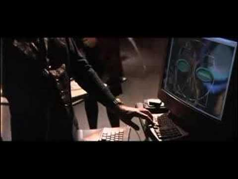 hackers - http://www.imdb.com/title/tt0113243/ A young boy is arrested by the US Secret Service for writing a computer virus and is banned from using a computer until ...
