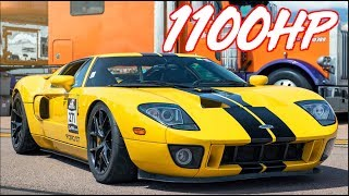 1100HP Ford GT Twin Turbo Ride Along - The Greatest Ford Ever Produced? by  That Racing Channel