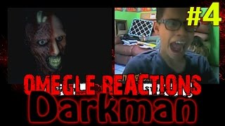 Omegle videos are back! You guys have no idea how much I missed scaring people on Omegle! Here is a brand new Darkman scare prank! Have fun--------------------------------------------------Keep stalking me: - https://twitter.com/TheAzGarot - https://www.facebook.com/TheAzGarot-  http://instagram.com/TheAzGarot-  https://vine.co/AzGarot--------------------------------------------------This is another video of mine with a bunch of spontaneous, hilarious Omegle reactions. For all of you Omegle fans, check it out, feel free to comment and share, I am sure you will enjoy it. It's unbelievable how easy it is to scare people on video chats, I get a ton of angry, boring, funny, adult (read: masturbating! xD) reactions every day but I give you the very best of them in my prank videos.I am one of those Omegle junkies and I want to share my experience with you guys, I am sure that there are a lot of like minded people out there. Who knows, maybe your reaction is in one of my videos :)--------------------------------------------------For all of you who don't know what Omegle is, it is a website where you can meet and chat with random people from all around the world. Here is a link to the website: - http://www.omegle.com/Another website, pretty much the exact same thing as Omegle is Chatroulette. Here is a link: - http://chatroulette.com/--------------------------------------------------Enjoy your stay!