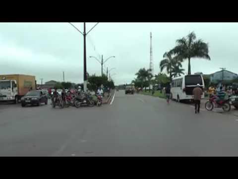 (chuvas fortes)BR 222 interditada em Abel Figueiredo-PA