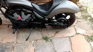 8. 2010 Honda fury motorcycle
