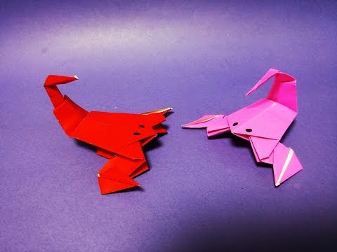 In This Video Tutorial Nfi7ln6pnjM9VySLvQ0KQ Demonstrates How To Make An Easy Paper Origami Scorpion