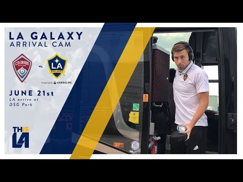 Video: ARRIVAL CAM: LA Galaxy arrive at Dick's Sporting Good's Park