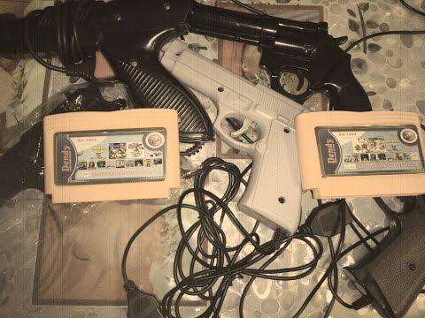 Игры для Денди с пистолетом (видео)