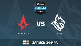 Astralis vs Heroic - ESL Pro League S6 EU - de_overpass [sleepsomewhile]