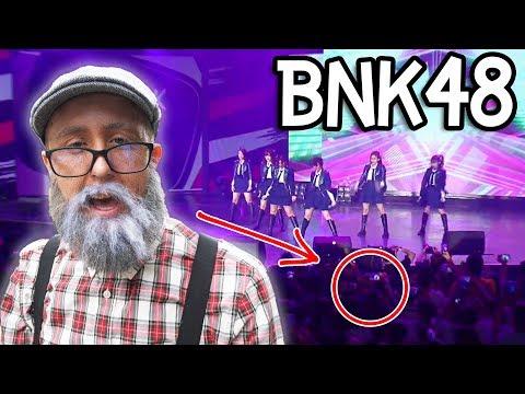 แต่งหน้าแก่ แอบเข้าคอนเสิร์ต BNK48!!!