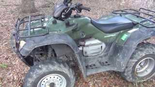 9. 2007 Honda Rancher TRX400FA A/T GPS