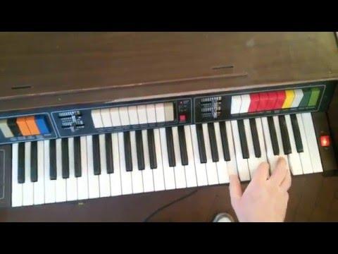 Testing sound and rhythm on Bontempi HP 49 4 DEMO Full HD