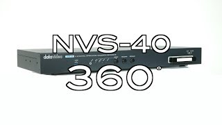 【360 Product Video】NVS-40 4 Channel Streaming EncoderRecorder