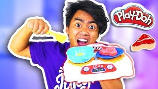 Video PLAYDOH KITCHEN CREATIONS Sizzlin' Stovetop (Roi's Toy Review) MP3, 3GP, MP4, WEBM, AVI, FLV Januari 2018