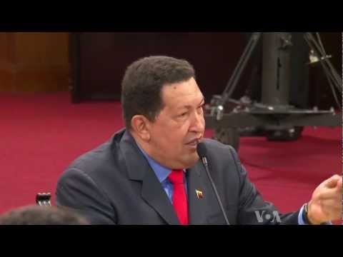 Chavez Says He Will Continue to Speak Out Against Imperialism
