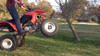 9. 2006 honda trx 400ex off road action fun