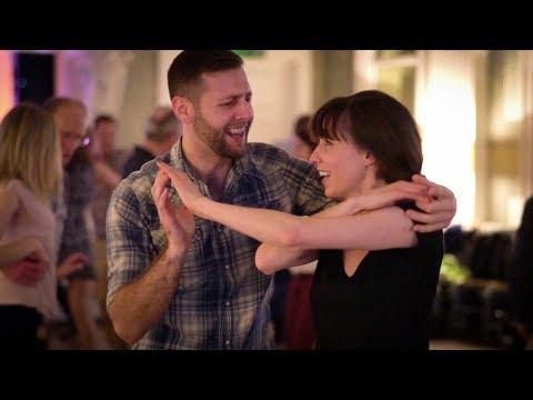 What is social partner dancing?