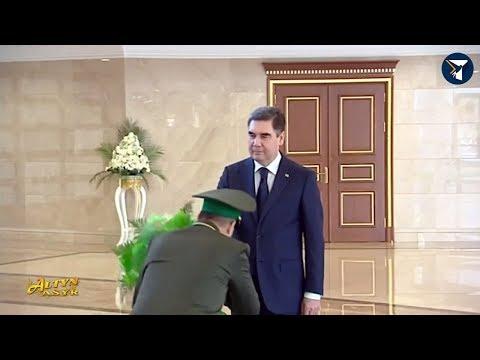 Президент Туркмении встретился с главами силовых ведомств