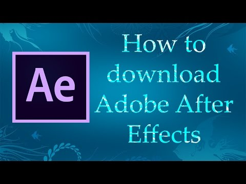 How To Download Adobe After Effects Tamil
