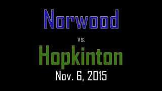 Norwood vs. Hopkinton Football Highlight