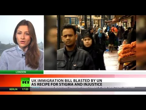 Keep Calm & Deport: UK immigration bill slammed for injustice & 'ethnic profiling'