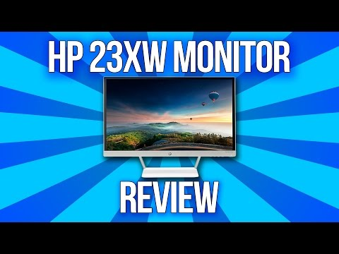 HP 23XW Monitor Review!
