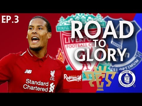 THE DERBY!!!! | ROAD TO GLORY Liverpool V Everton | EP 3