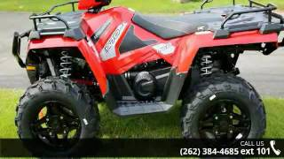 8. 2016 Polaris Sportsman 570 Indy Red  - Action Power Sport...