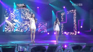 Davichi - Dont Say Goodbye 111007 Music bank 1080p Full HD