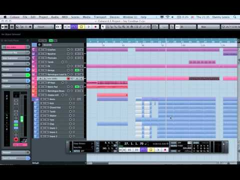 "Cubase Tutorial – Behind the scenes on ""Say Goodbye"""