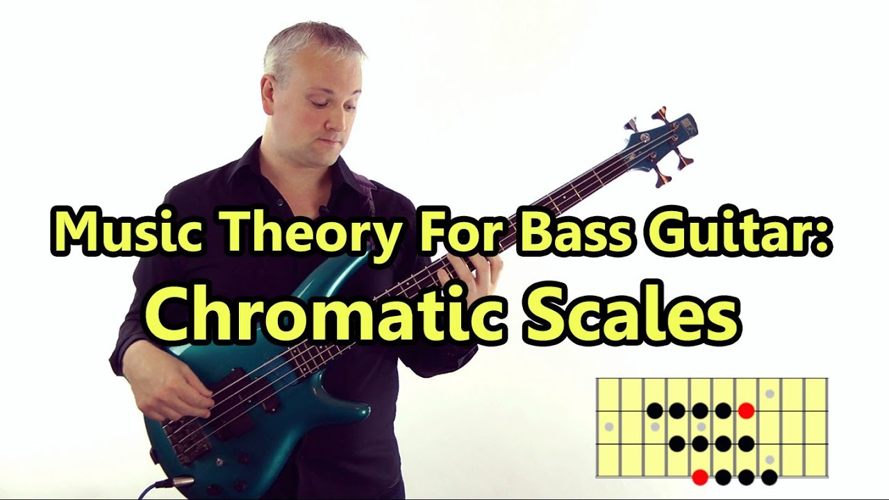 Chromatic Scales – Music Theory For Bass Guitar