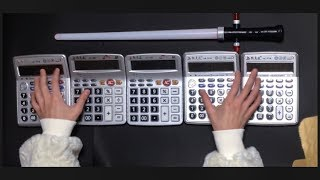 Star Wars Theme covered by four calculators