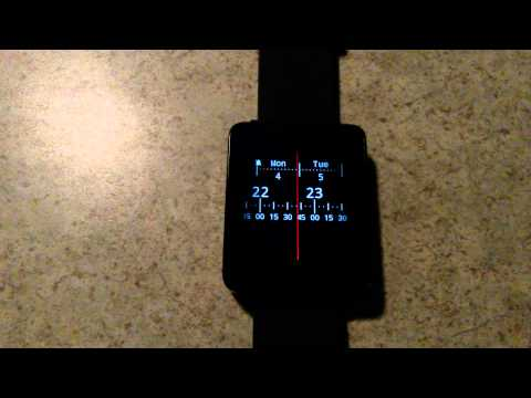 Video of Meter Watch Face for Wear