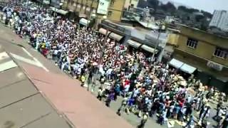 #4 Ethio Muslims continue their strong Demonstration at Anwar Mosque on Fri March-1-2013