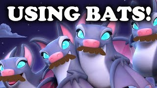 Using Bats to Counter Everything   Clash Royale