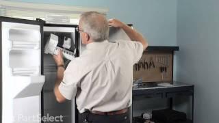 Refrigerator & Freezer Repair - Replace Ice Maker Kit