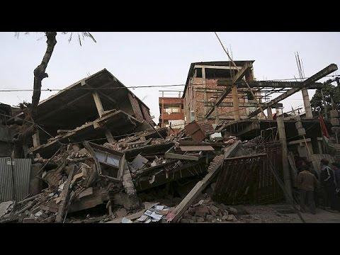 Φονικός σεισμός 6,8R στη ΒΑ Ινδία