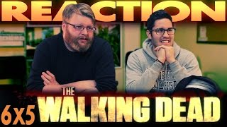 "The Walking Dead 6x5 REACTION!! ""Now"""