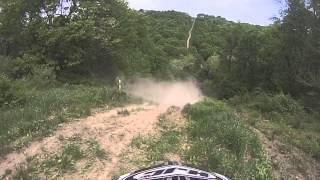 10. Kfx 450 hill climb