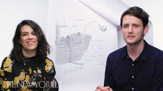Video Abbi Jacobson and Zach Woods Enter The New Yorker Caption Contest | The New Yorker MP3, 3GP, MP4, WEBM, AVI, FLV Agustus 2018