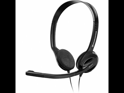 Auriculares con micro Sennheiser Headset PC-31 II - Review