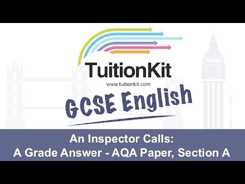 exemplar essays an inspector calls