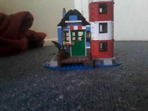Lego city litehouse set number 31051