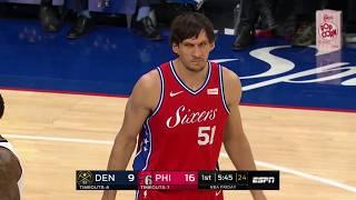 Philadelphia 76ers Fans Give Boban Marjanović Standing Ovation For First Game vs. Denver Nuggets