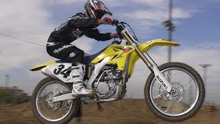 10. 2008 Suzuki RM-Z250 First Ride - MotoUSA
