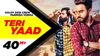Video TERI YAAD (Official Video) | GOLDY DESI CREW Feat PARMISH VERMA | New Song 2018 | Speed Records MP3, 3GP, MP4, WEBM, AVI, FLV Agustus 2018