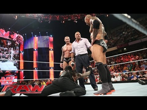 raw - The Shield has their backs against the wall when they compete against 11 WWE Superstars.